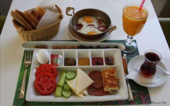 İstanbul'un Kalbinde Şişli Arsima Otel & Cafe Restaurant'ta, Sınırsız Çay Eşliğinde 15 Çeşit Serpme Kahvaltı!