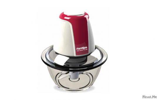 FANTOM 'MİNİ ROBOT R 200' Cam Gövdeli Mini Mutfak Robotu