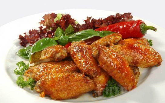 Façiba Restaurant'ta Mangalda Kanat Menü Fırsatı