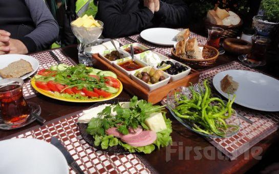 Riva'da Riva Restoran'da, Doğanın Güzelliği İçerisinde Enfes Lezzetlerden Oluşan Kahvaltı Fırsatı Seçenekleri!