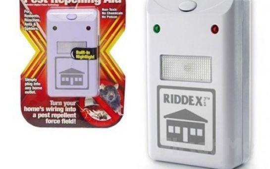 Bu Yaz Evinizde Rahat Uyuyun Riddex Plus Elektronik Haşere Kovucu