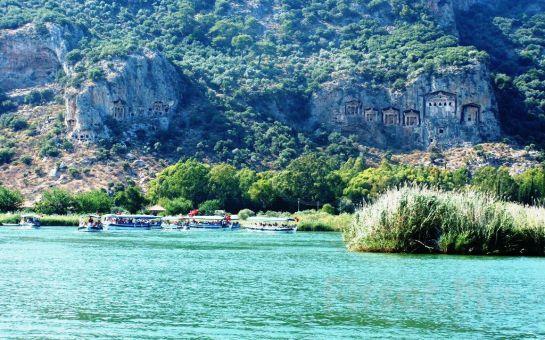 EGE ve AKDENİZ'in En Güzel Koylarında Krizantem Tur İle Rafting, Tekne Turu