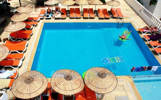 Bodrum Altapark Otel'de Kişi Başı Herşey Dahil Tatil (Tüm Sezon Geçerli)