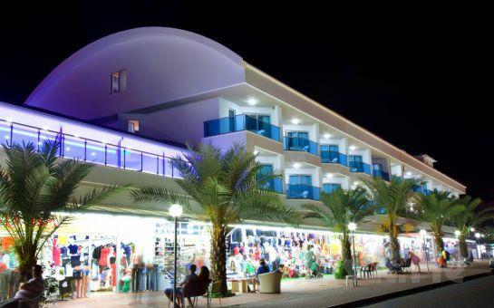 Tatil Cenneti Alanya'da Nergis Boutique Hotel'de Herşey Dahil Tatil!