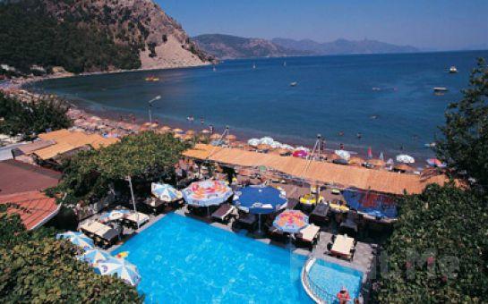 Mavi ve Yeşilin Huzurunu Bir Arada Yaşamak İstiyorsanız Marmaris Öz-Can Hotel Turunç'ta Herşey Dahil Tatil Fırsatı