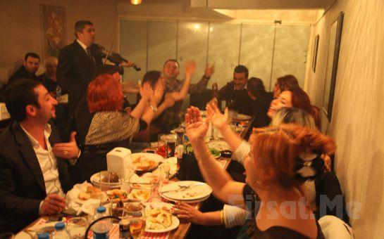 Kızılay 2 TEK Meyhane'de, (Rakı + Balık + Meze + Meyve) Zengin Menüsüyle Canlı Fasıl Fırsatı!