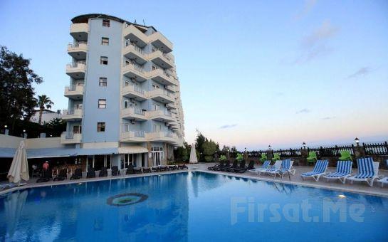 Alanya'da Deniz Manzaralı 4 Yıldızlı Artemis Hotel'de Herşey Dahil Tatil Fırsatı! (Tüm Sezon Geçerli!)