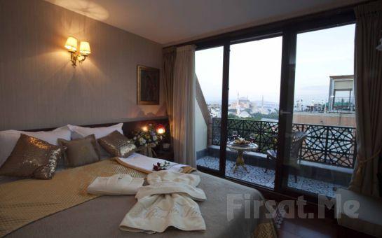 Sultanahmet, Burckin Suites Hotel'de; Osmanlı Usulü 2 Kişi 1 Gece Konaklama, Kahvaltı Fırsatı