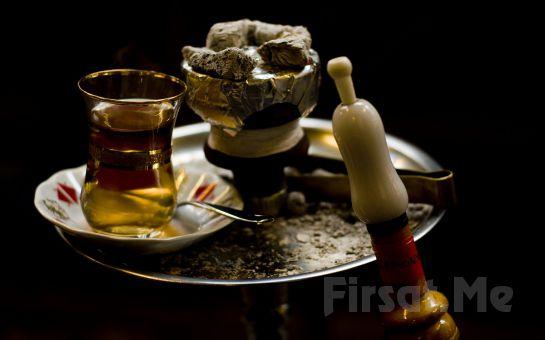 Cafemsi Libadiye Cafe'de Muhabbeti Bol Nargile Keyfine Davetlisiniz! (Nargile Keyfi + Çay İkramı + Çerez Tabağı)