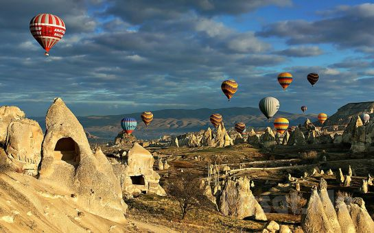 Kurban Bayramı'nda Krizantem Tur'dan 4 Gün 3 Gece Yarım Pansiyon Konaklamalı Kapadokya Turu (Ek Ücret Yok)
