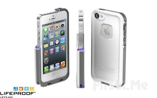 Telefonunuza İyi Bakın! iPhone 5 LifeProof Su Gecirmez Kılıf Fırsatı! (Siyah veya Beyaz)