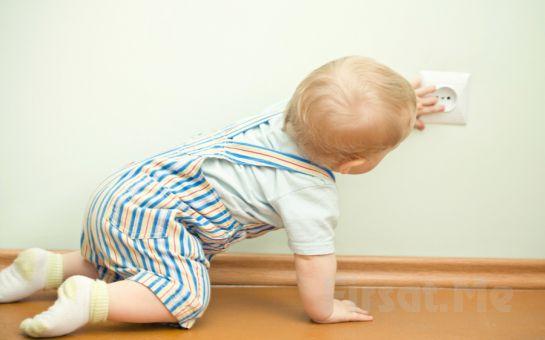 Çocuklarınız İçin Evde Elektrik Güvenliğini Sağlayan Miny Baby'den Otomatik Kapanan Priz Koruma Kapağı!