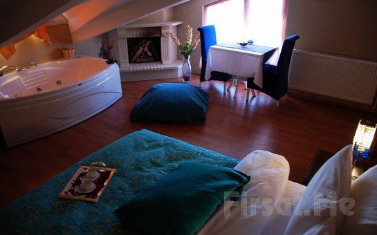 Huzurun Adresi Ağva Sweet Home Otel'de Jakuzili veya Şömineli Odalarda 2 Kişi 1 Gece Konaklama + Kahvaltı + 5 Çayı İkramı!