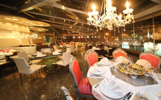 Taksim Cartoon Otel Teras Restaurant'da Canlı Sahne Performansları, Dans Showları ve Leziz Menü İle Muhteşem Yeniyıl Partisi (Sınırsız Yerli İçki Dahil)