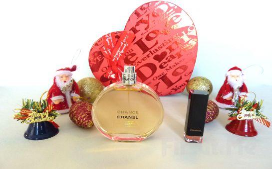 Bayanlara Özel Chanel Chance Pour Femme 100 ml Orjinal Tester Parfüm + Chanel Rogue Silikon Etkili Ruj Fırsatı!
