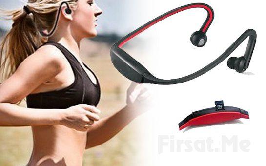 Spor Yapmak Artık Daha Keyifli SD Kart Girişli, Kablosuz, MP3 Çalarlı ve FM Radyolu Kulaklık