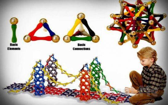 Çocuğunuzun El Becerisini Geliştiren 103 Parça Manyetik Lego Fırsatı