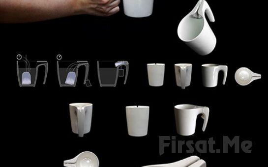 Poşet Çay Sıkmalı Kupa Bardak Fırsatı