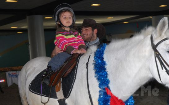 Sarıyer Atlıtur'dan At Üstünde Doğum Günü Etkinliği + Lonj Sahasında At Binme + İkramlar!