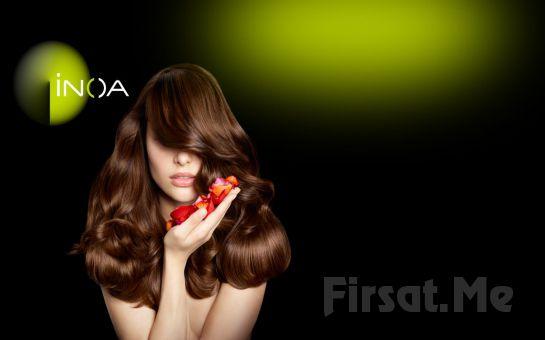 Kozyatağı SaloonS Güzellik'ten, Amonyaksız Loreal İnoa Ürünleriyle; Dip Boya + Saç Bakım + Creatif Kesim + Fön!
