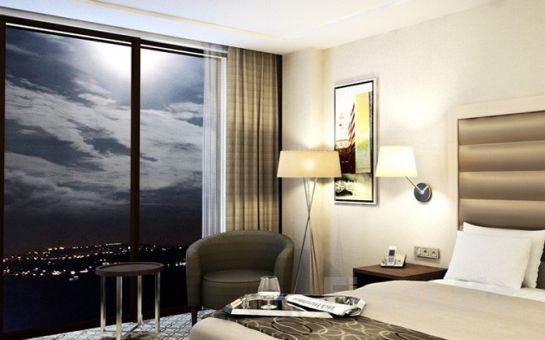 Boğaz'ın Kenarında Eşsiz İstanbul Manzaralı Tophane Nidya Hotel Galataport'ta Kahvaltı Dahil 2 Kişi 1 Gece Konaklama + Türk Hamamı + Spa Fırsatı! (Sevgililer Gününde de Geçerli!)