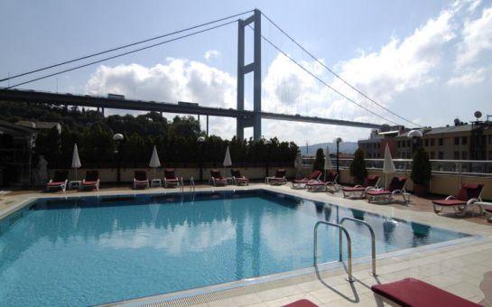 Muhteşem Boğaz Manzaralı 5* Ortaköy Princess Otel'de 2 Kişi 1 Gece Konaklama Keyfi, Kahvaltı Seçeneğiyle