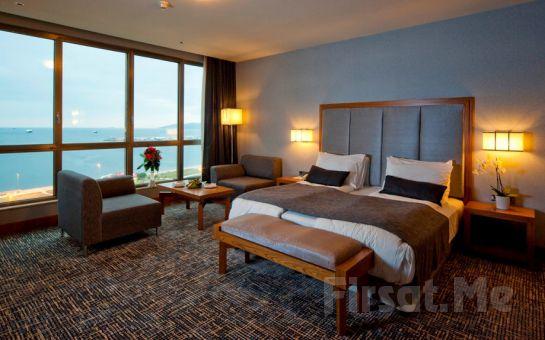 Muhteşem Deniz Manzaralı 5* The Green Park Pendik Otel'de 2 Kişi 1 Gece Konaklama + Kahvaltı + Spa Fırsatı!