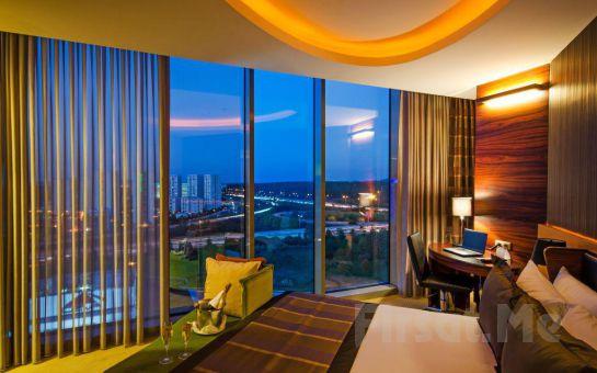 Şehrin Ortasında Ormanın Manzarasına Davetlisiniz Ümraniye Rescate Hotel Asia'da Kahvaltı Dahil 2 Kişi 1 Gece Konaklama Fırsatı
