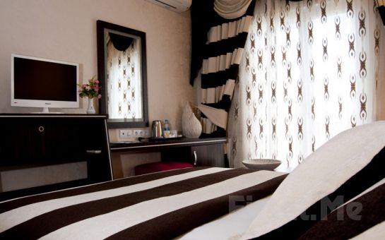 5* Turist Hotel Ankara'da Standart Odalarda 2 kişi 1 Gece Oda, Kahvaltı, Akşam Yemeği, Spa Keyfi Seçenekleri