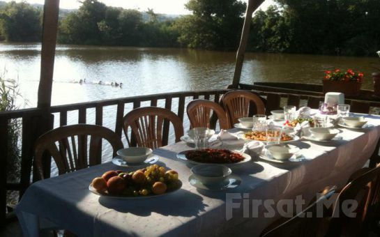 Riva'da Muhteşem Köy Kahvaltısına Var mısınız? Riva Restoran'da, Doğanın Güzelliği İçerisinde Enfes Lezzetlerden Oluşan Serpme Köy Kahvaltısı!