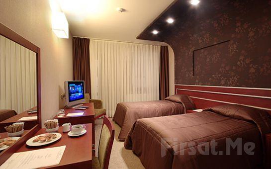 Adalar Manzaralı Maltepe Princess Hotel Dragos'da, 2 Kişi 1 Gece Konaklama + KahvaltıKeyfi!