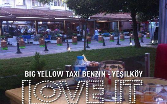 Yeşilköy Big Yellow Taxi Benzin Cafe'de Sınırsız Çay Eşliğinde Serpme Kahvaltı Fırsatı