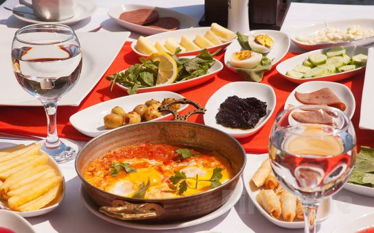 Doğa, Deniz ve Havuz Keyfinin Adresi Ağva Günay Otel & Restaurant'ta Sınırsız Çay Eşliğinde Serpme Köy Kahvaltısı!