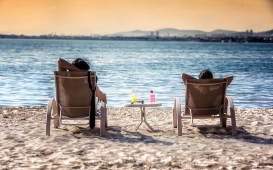 Bayramoğlu Hegsagone Marine Asia Otel'de Deniz Manzaralı Odalarda Kahvaltı Dahil 2 Kişilik Konaklama