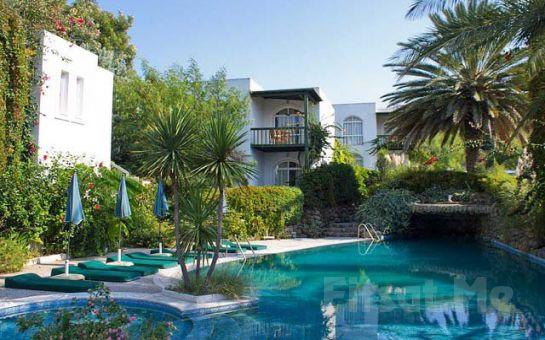 Denize Sıfır Bodrum Yalıkavak Elite Garden Apart'ta Deniz, Havuz, Bahçe Manzaralı Odalarda 4 Kişi Konaklama Fırsatı!