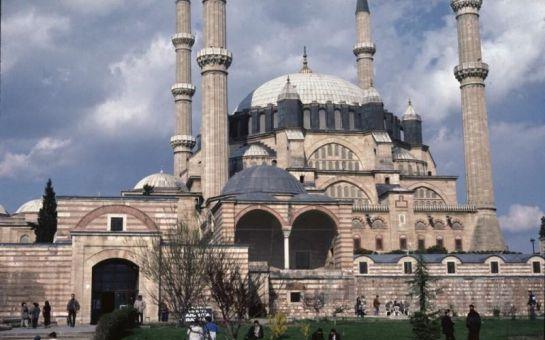 Osmanlı'nın Başkenti Edirne'yi Baştan Başa Geziyoruz! Tur Dünyası'ndan HİLLY Hotel'de Öğlen Yemeği Seçeneği ile Edirne Turu!