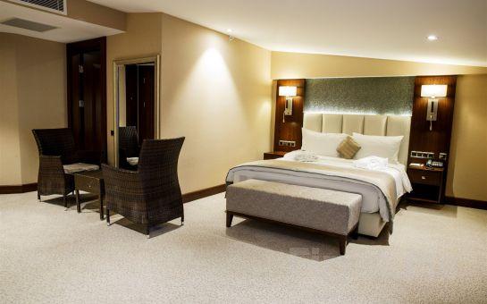 Şişli Grand Aras Hotel Suites'te Standart Odalarda 2 Kişi 1 Gece Konaklama, Kahvaltı Seçeneğiyle!