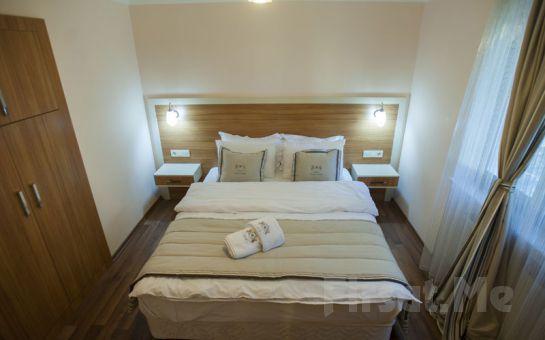 Eskişehir Sarar Boutique, Apart Hotel'de 2 Kişi 1 Gece Konaklama, Açık Büfe Kahvaltı Keyfi ve Akşam Yemeği Seçenekleri