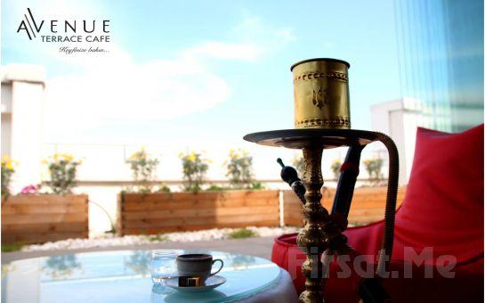 Beylikdüzü Avenue Terrace'ta Kahvaltı Keyfi veya Nargile Keyfi