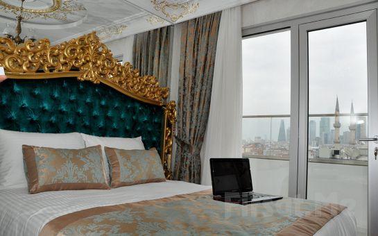 White Monarch Hotel'de 2 Kişi 1 Gece Konaklama, Kahvaltı Fırsatı