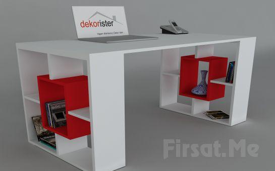 Dekorister Modüler Mobilya'dan, 3 Ayrı Renkte 'Dekorister Valancia Çalışma Masası' Fırsatı!