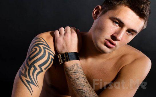 Beşiktaş Kızıl Oda Tattoo'da 7*7 cm Boyutlarında İstediğiniz Renk Ve Model Dövme Fırsatı(İsteyene Yazı veya İsim Dövmesi Hediye)