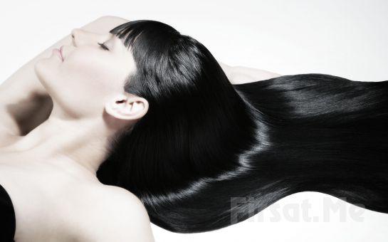 Kozyatağı SaloonS Güzellik'ten, Saç Kesimi + Argan Yağı İle Saç Bakımı + Fön Fırsatı!