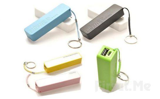 Tüm Cihazlar İçin Uyumlu Yedek Batarya Power Bank 2600 mAh - P01890 Fırsatı