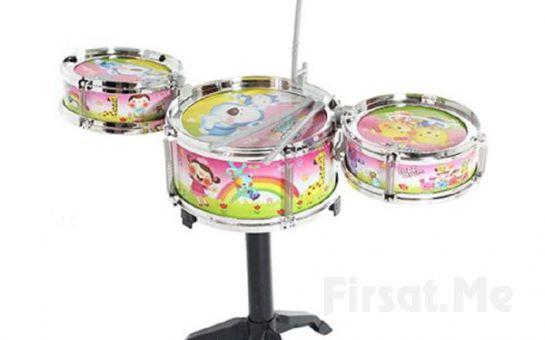 Çocuğunuzun İçindeki Müzik Yeteneğini Keşfedin Çocuk Bateri Seti Jazz Drum Fırsatı