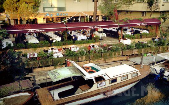 Anadolu Hisarı My Moon Restaurant'ta Göksu Nehri Kenarında Canlı Müzik ve Zengin Menü Eşliğinde Yılbaşı Eğlencesi!