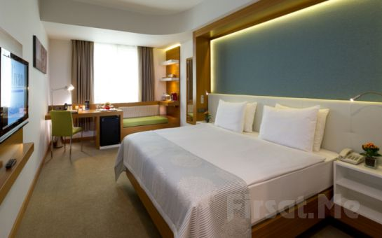Divan İstanbul City'de Gayrettepe Hotel Sevgililer Gününe Özel 2 Kişi 1 Gece Konaklama, Akşam Yemeği Seçenekleri