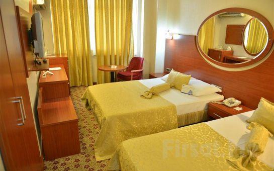 Adana İnci Hotel'de 2 Kişi 1 Gece Kahvaltı Dahil Konaklama Ayrıcalığı