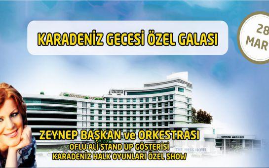 Sarıçamlar Turizm'den The Ness Termal Hotel'de 28 Mart Karadeniz Rüzgarı Gala Programı + SPA Kullanımı ve Konaklama Seçeneği!