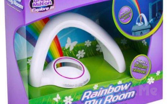 Gökkuşağını Seyretmek İçin Artık Yağmur Sonrasını Beklemeye Gerek Yok! Gök Kuşağı Gece Lambası Rainbow!